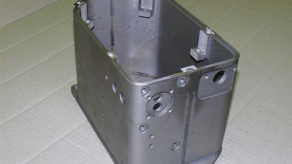Gehäuse für empfindliche Elektronikbauteile
