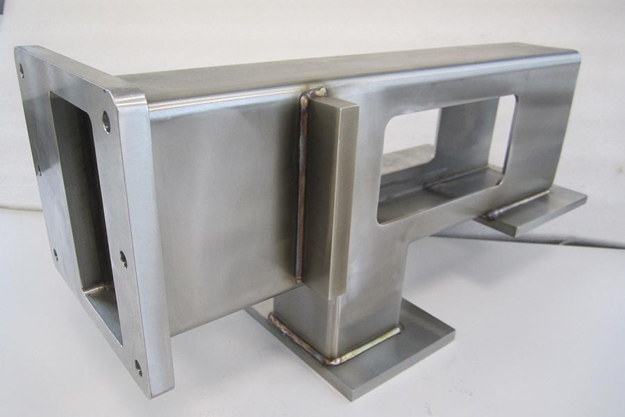 Maschinenteile (V2A) Spezialkonsole für Fertigungsautomaten