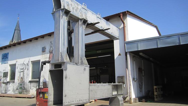 Maschinengrundkörper (V2A)